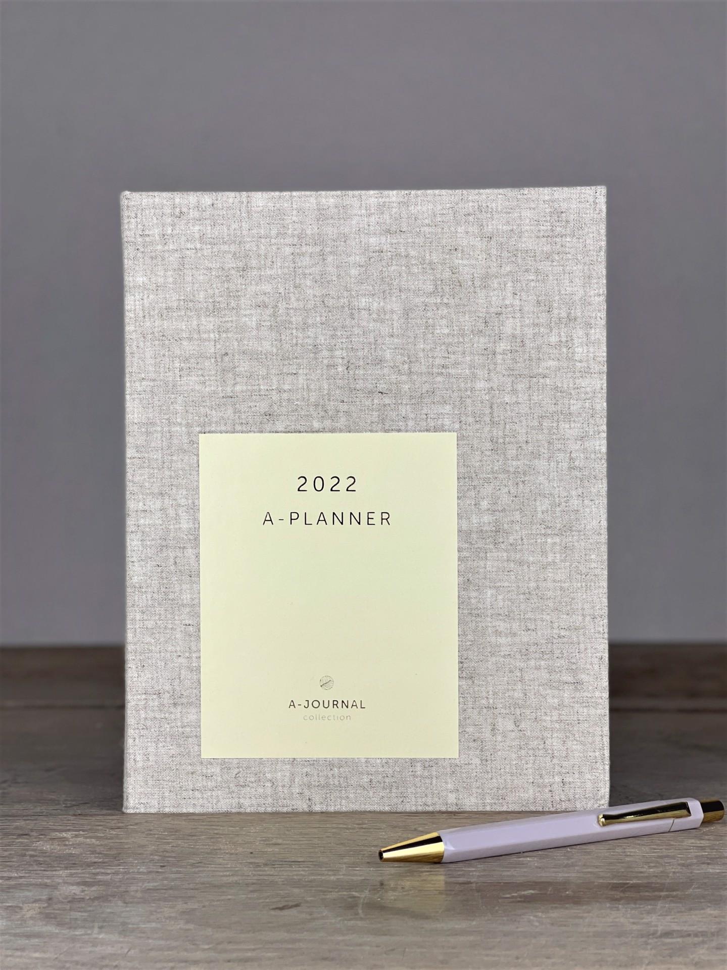 Kalender A Journal grau