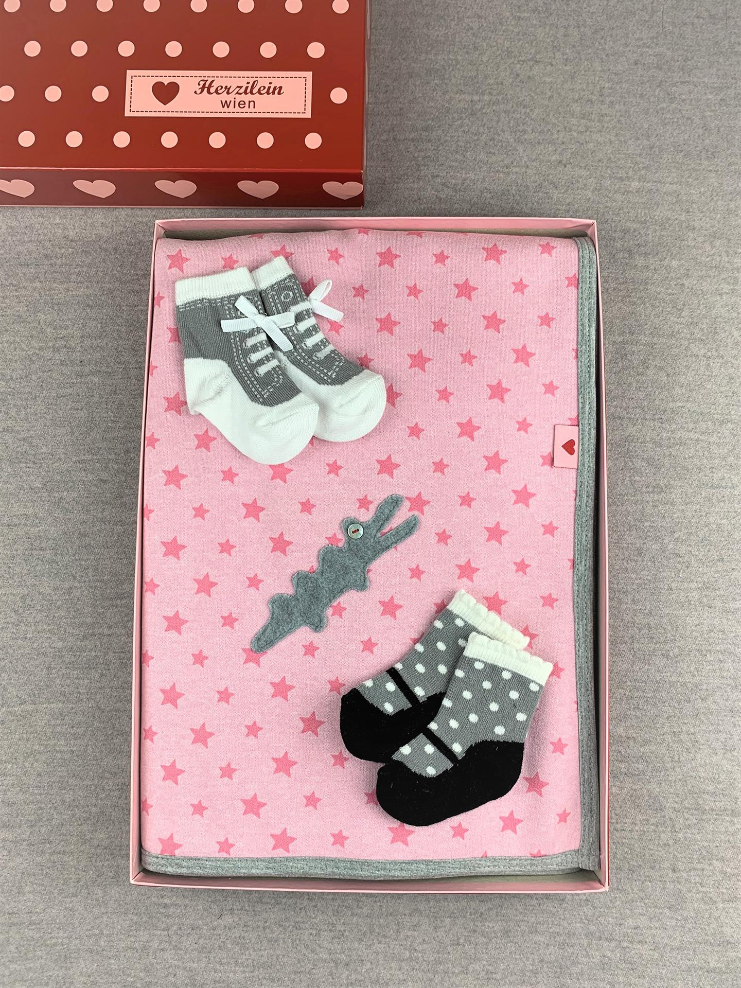 Geschenkbox Set No. 16 Kroko Rosa