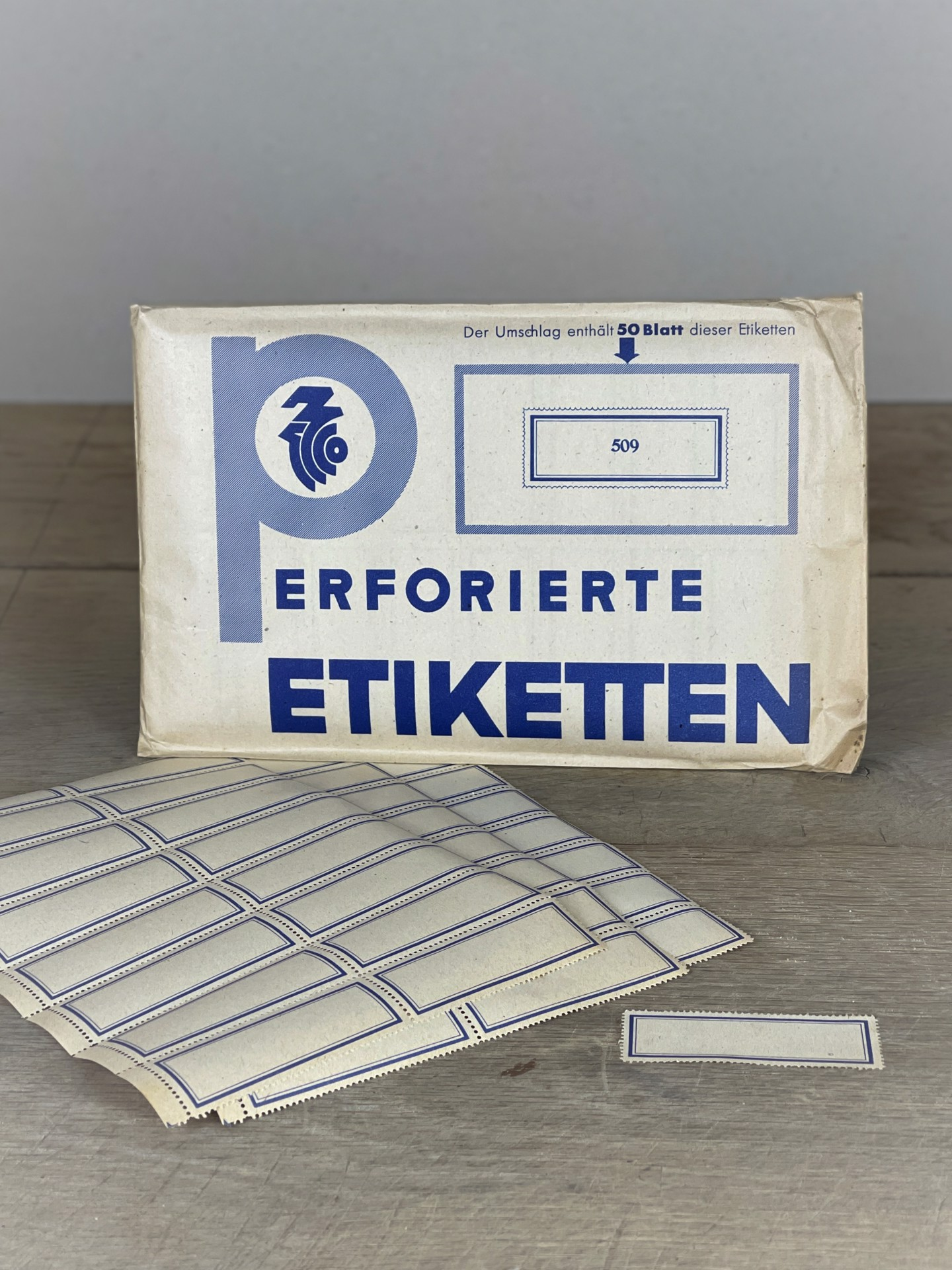 Labelset 48 Stück XL
