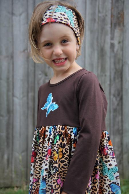 Kleid Schmetterling