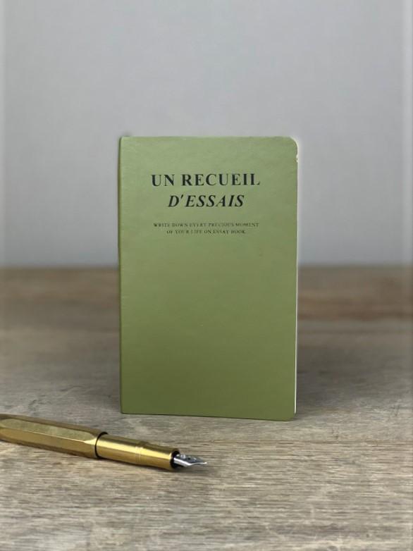 Notizbuch Elegant olive