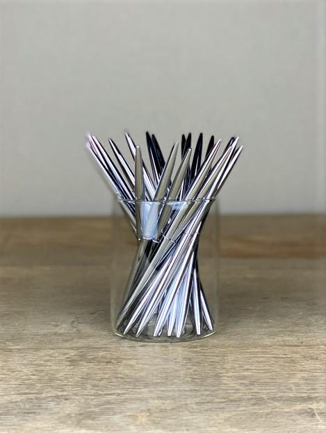 Kugelschreiber elegant silber