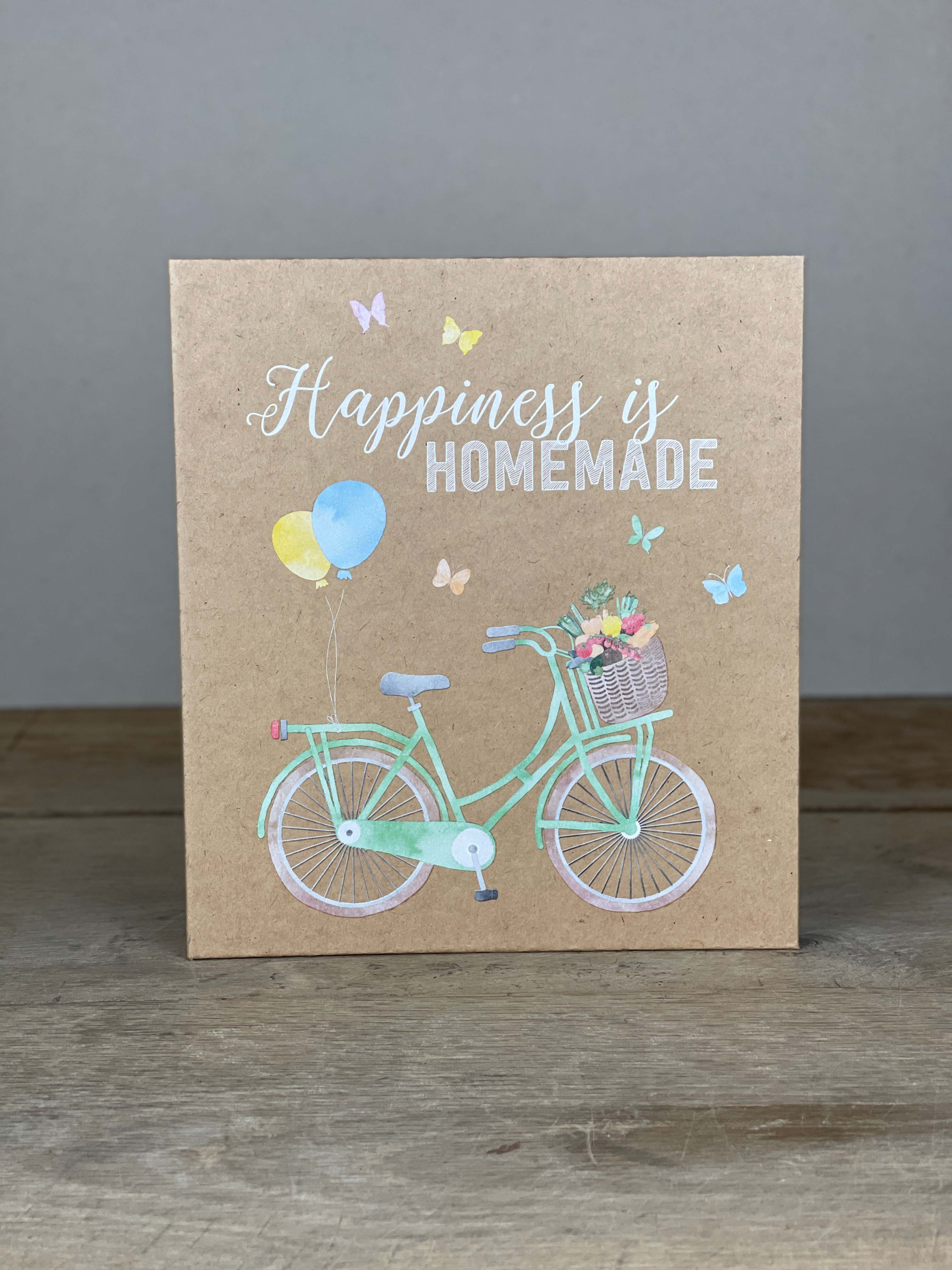 Kochmappe Happiness is homemade