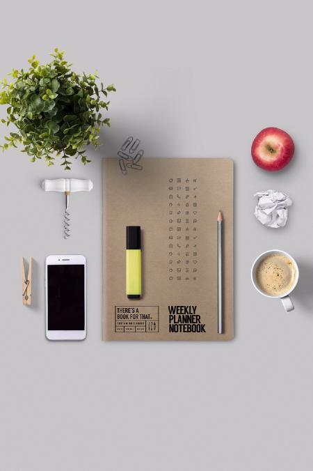 Notebook Weekly Planner natur