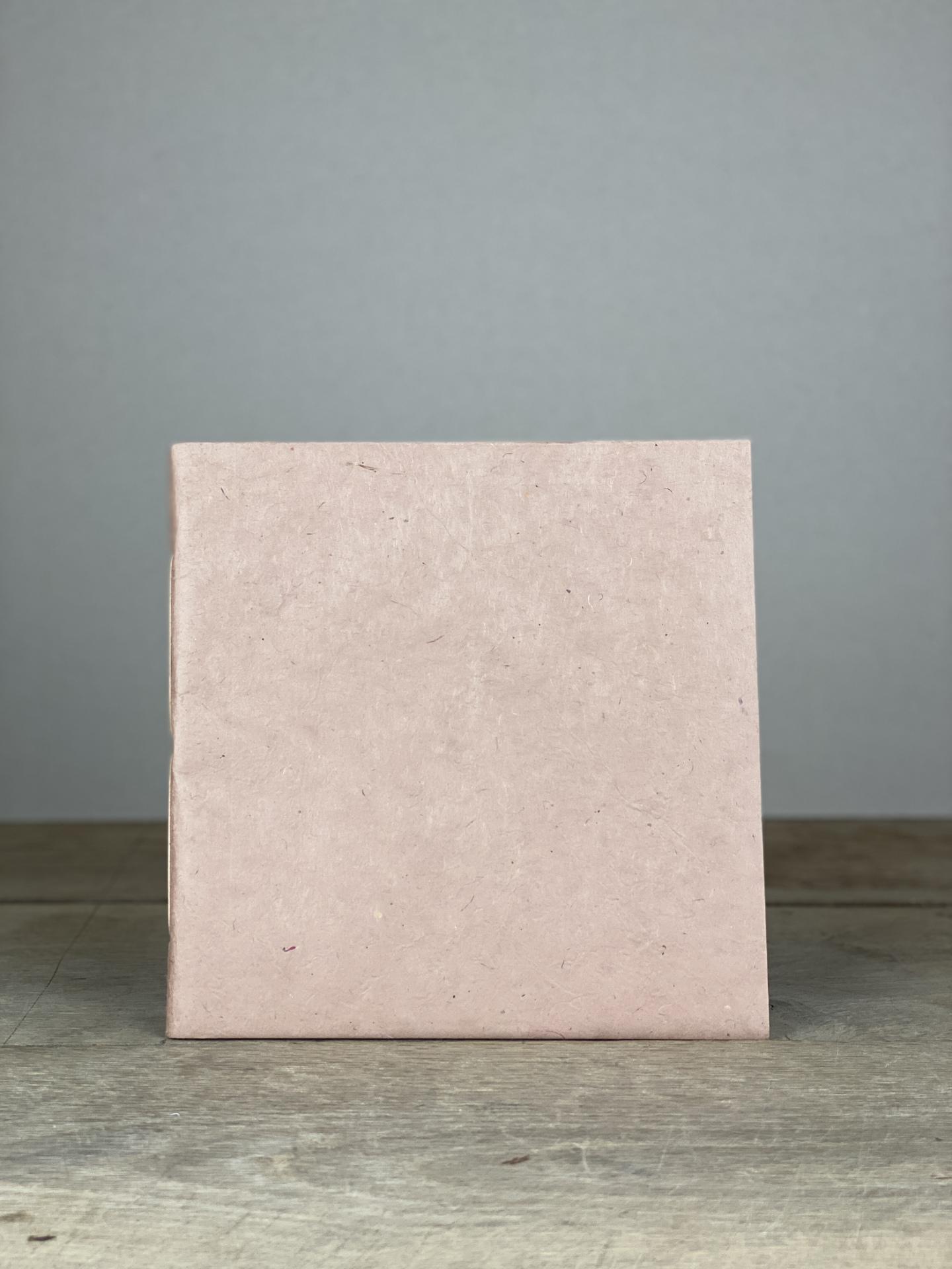 Album Softcover Quart groß altrosé