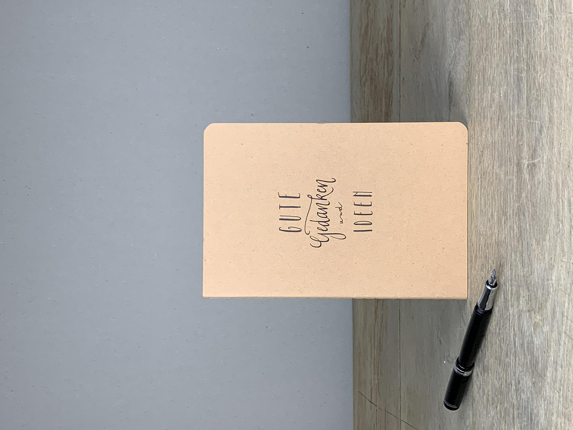 Notizheft A5 Gute Gedanken und Ideen