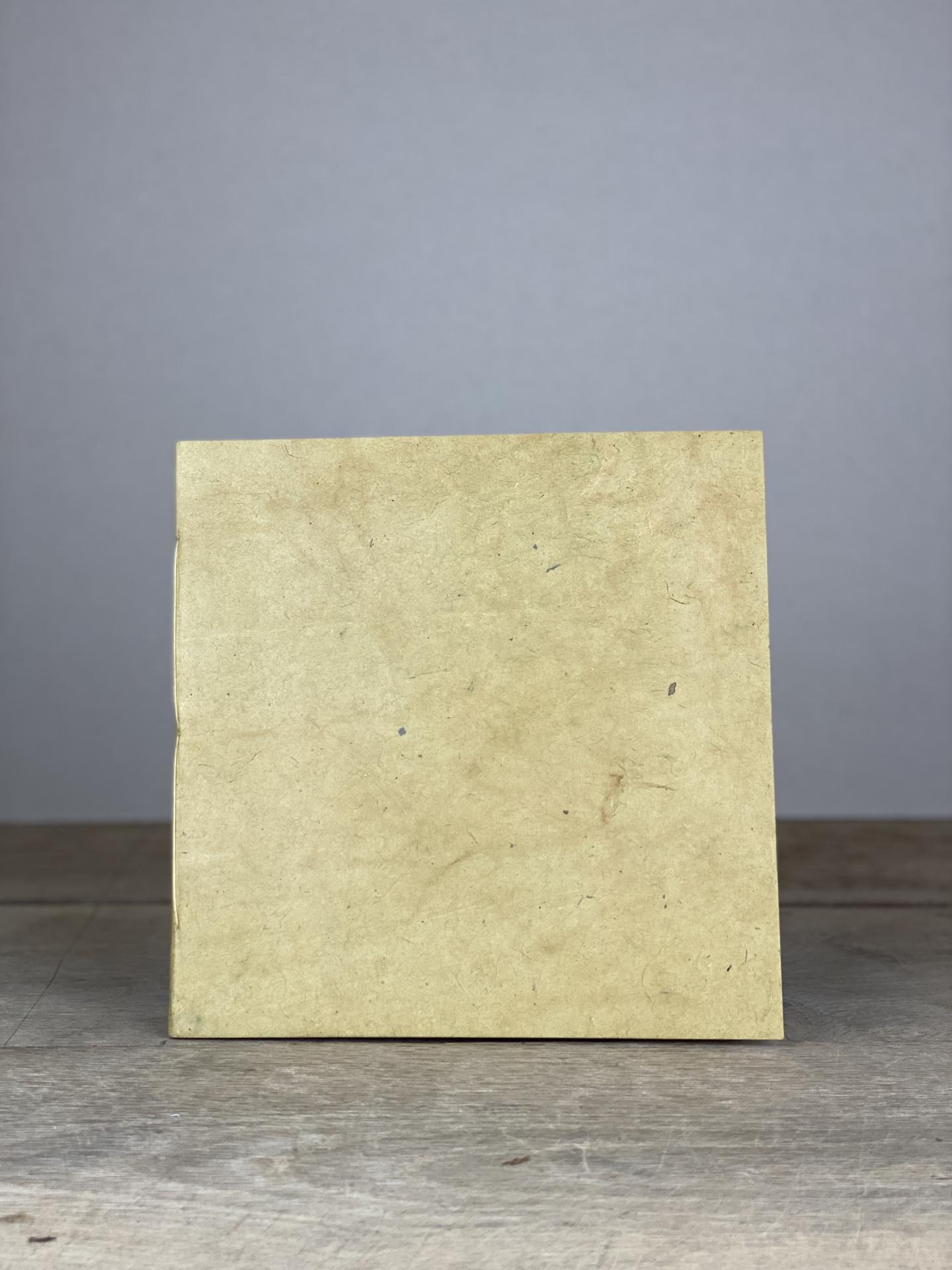 Album Softcover Quart groß ocker