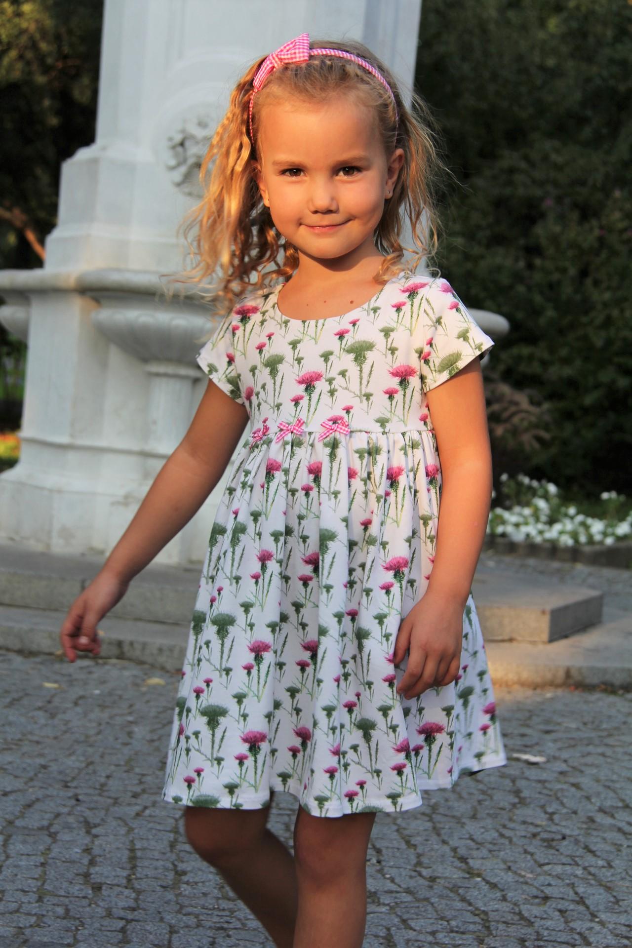 Kleid Distel