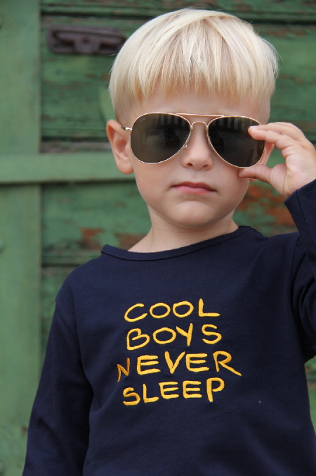 Shirt Cool Boys never sleep