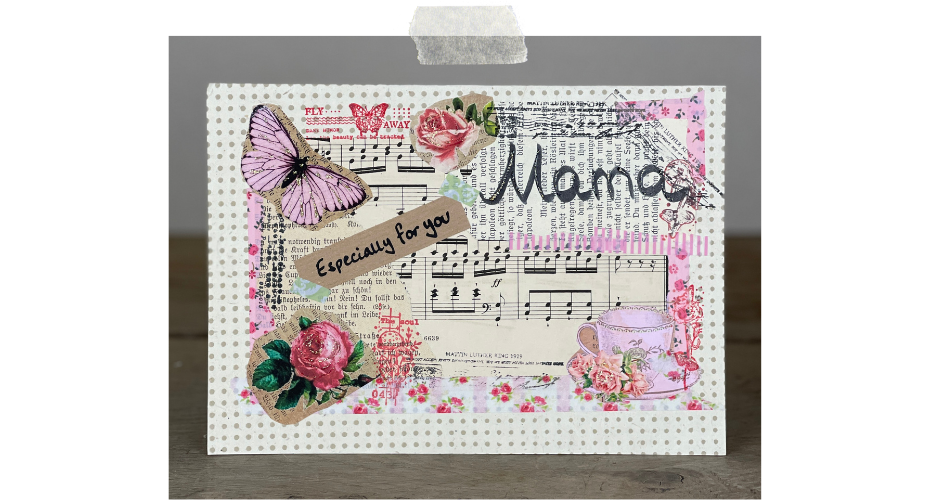 Herzilein Wien - Mama-Karte-DIY